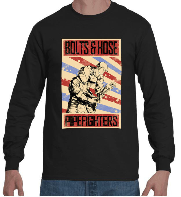 Bolts & Hose Pipefighter Long Sleeve
