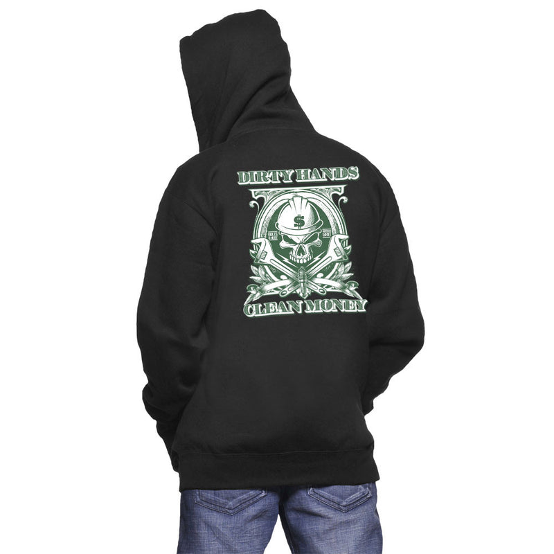 Dirty Hands Clean Money Hoodie