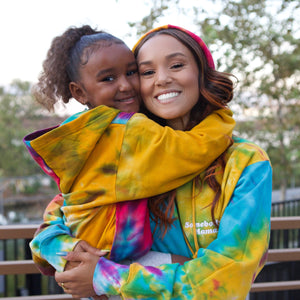 Somebody's Kid ( youth ) Rainbow Hoodie