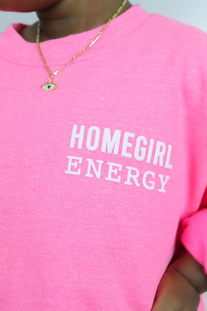 Homegirl Energy - YOUTH - Crewneck Sweater