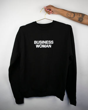 Load image into Gallery viewer, BUSINESS WOMAN Crewneck