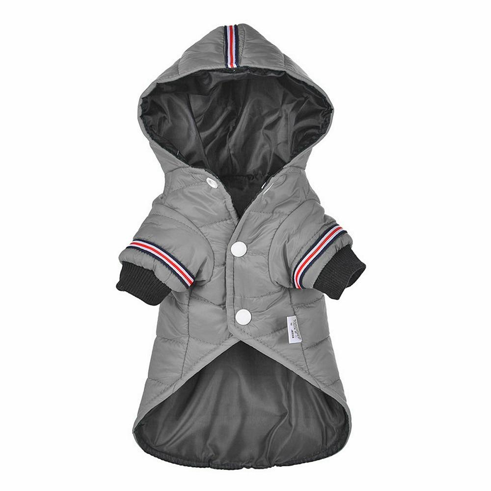 Hooded Dog Winter Jacket