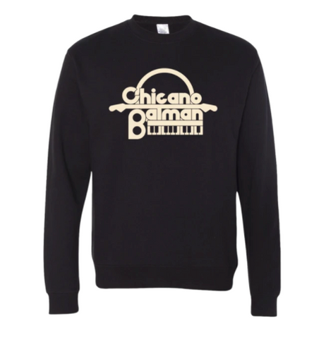 Keyboard Crewneck Sweatshirt (Black)