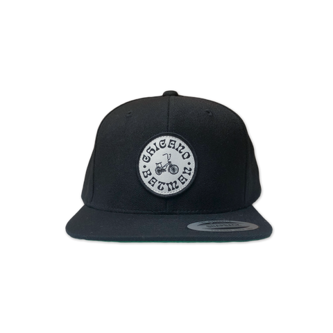 Black Lowrider Bike Hat