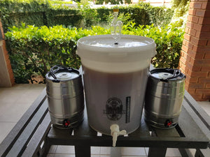 Boer Bier Brewing Kit with Kegs (Includes 10L Fresh Wort) Belgian