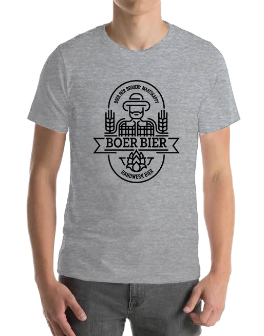 Boer Bier T-Shirt Grey