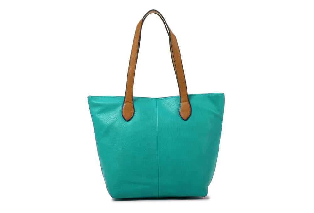 Women's Faux Leather Tote Bag - Hothouse