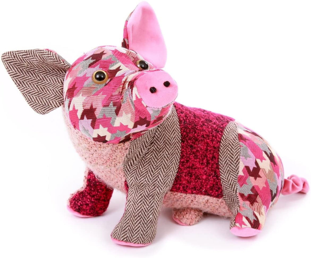 Dora Designs Patchwork Pig Doorstop - Hothouse