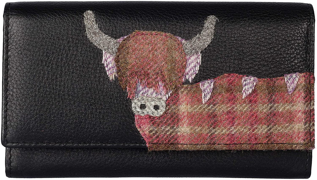Mala Leather Angus the Cow Matinee Purse - RFID (3523 46) - Hothouse