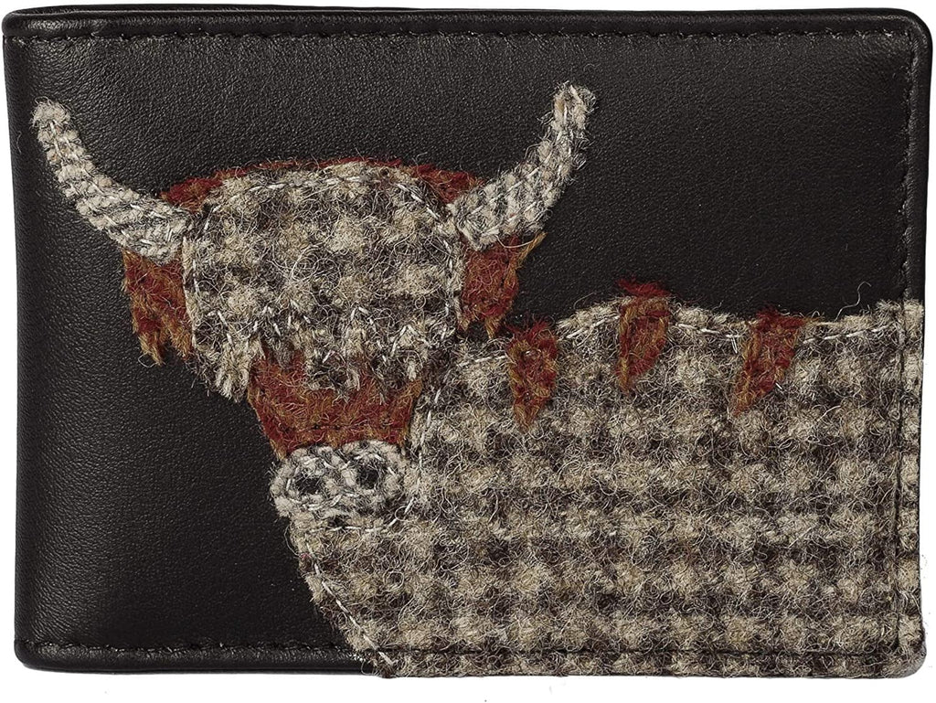 Mala Leather Angus the Cow Card Holder RFID (653 46) - Hothouse