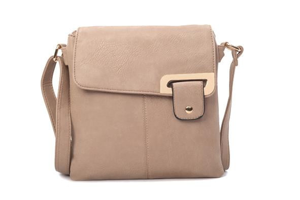 Women's Faux Leather Cross Body Bag - available in several colours - Hothouse
