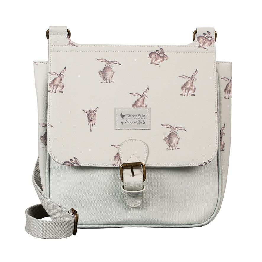 Wrendale Designs - 'Leaping Hare' Satchel Cross Body Bag