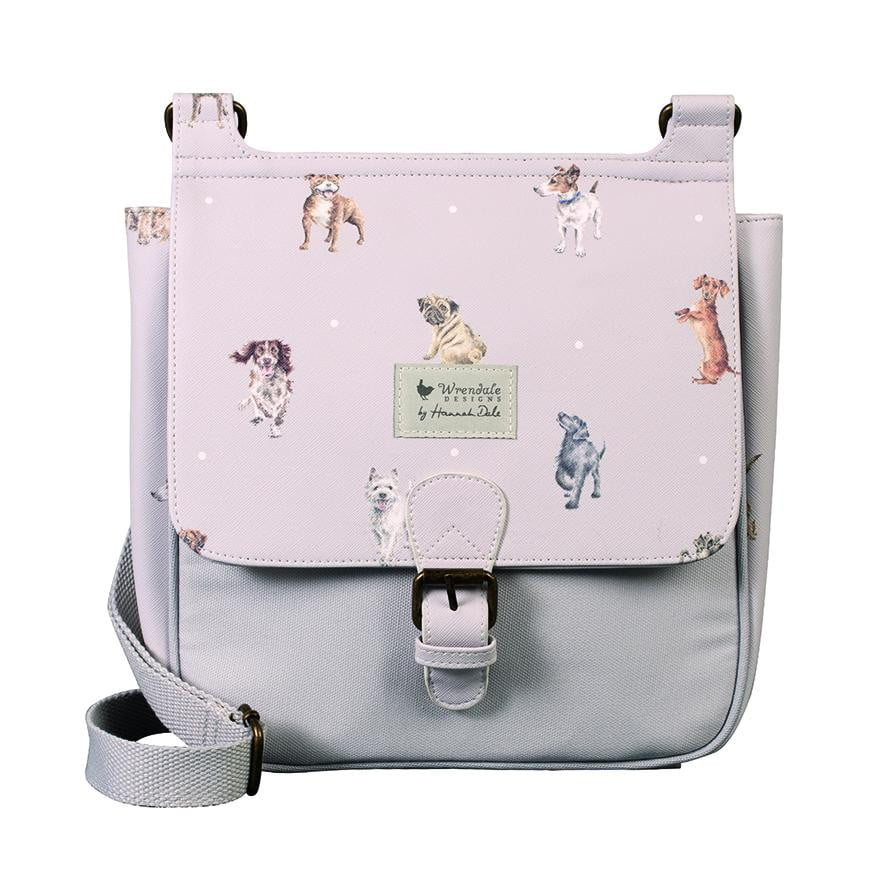 Wrendale Designs - 'A Dog's Life' Satchel Cross Body Bag