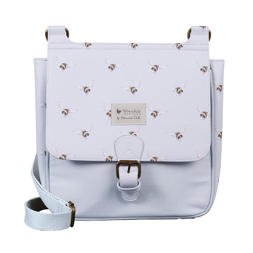 Wrendale Designs - 'Flight of the Bumblebee' Satchel Cross Body Bag