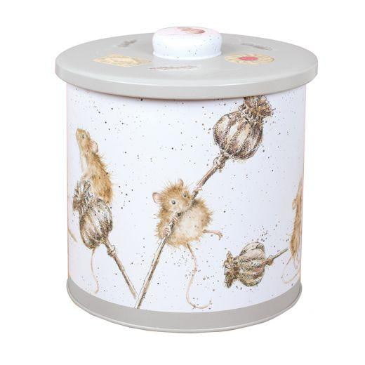 Wrendale Designs - Country Mice Biscuit Barrel (BT002)
