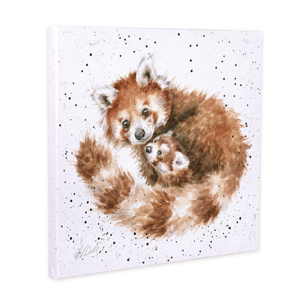 Wrendale Designs 'Tree Hugger' Red Panda 20cm Canvas Print