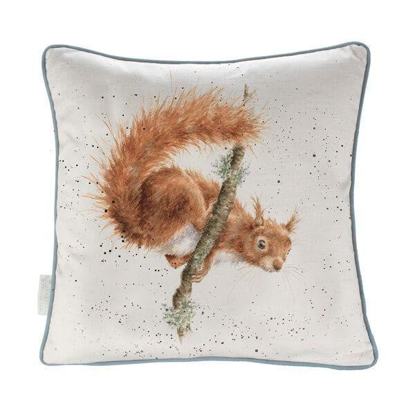 Wrendale Designs 'The Acrobat' Squirrel Cushion - Hothouse
