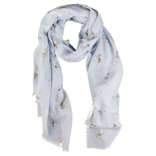 Wrendale Designs 'A Waddle and a Quack' Duck Scarf - Hothouse