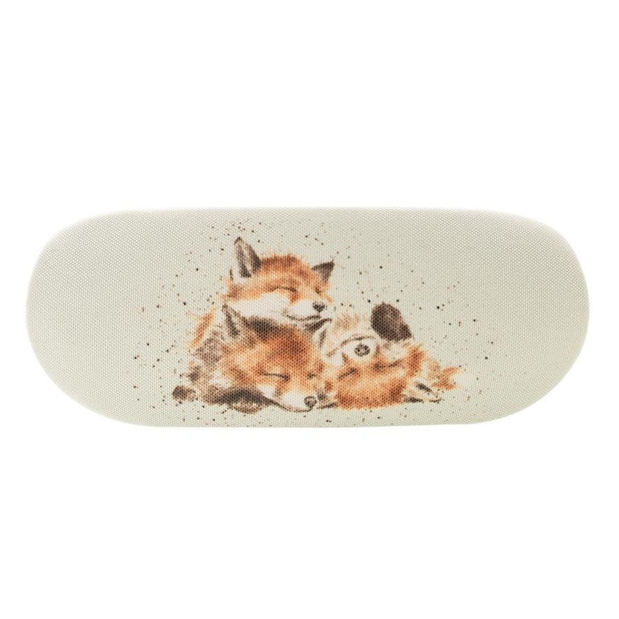 Wrendale Designs 'The Afternoon Nap' Foxes Glasses Case