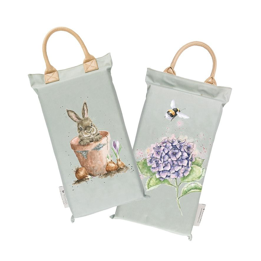 Wrendale Designs 'The Flower Pot' Rabbit Garden Kneeler - Hothouse