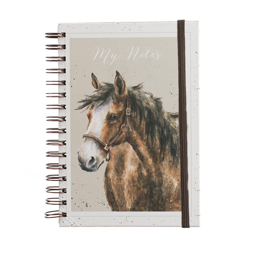 Wrendale Designs 'Spirit' Horse A5 Spiral Notebook