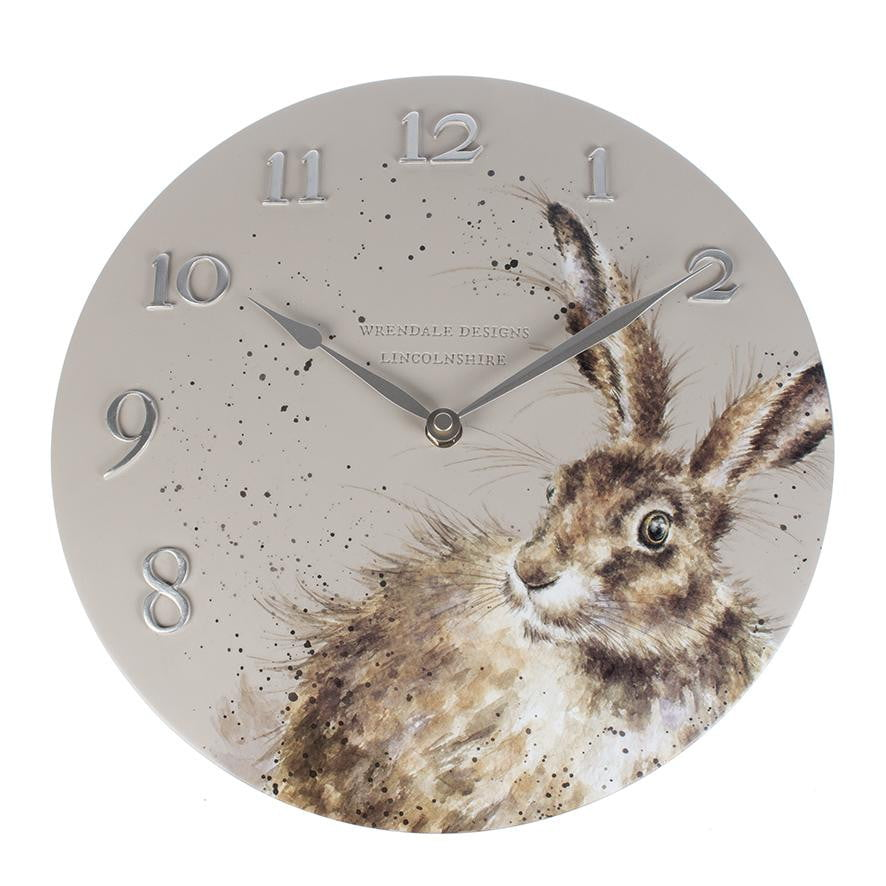 Wrendale Designs Hare Wall Clock - Hothouse