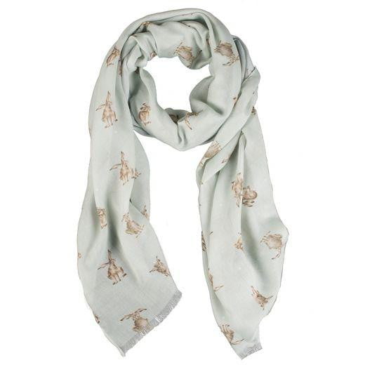 Wrendale Designs - Leaping Hare Scarf