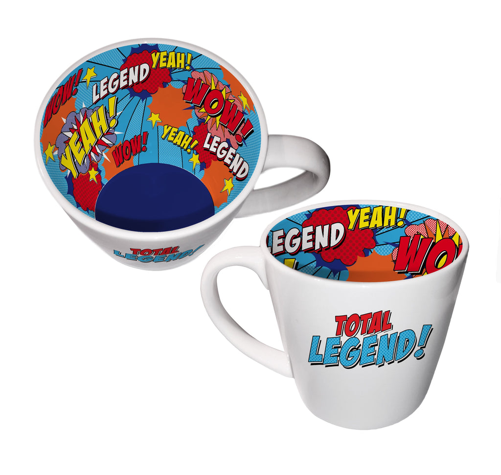 Total Legend Ceramic Inside Out Mug - Hothouse