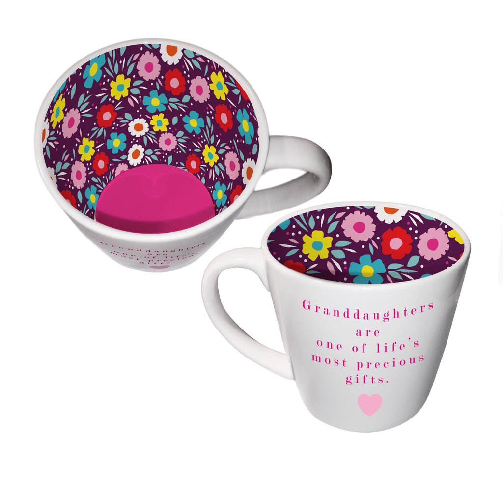 Granddaughter Ceramic Inside Out Mug - Hothouse