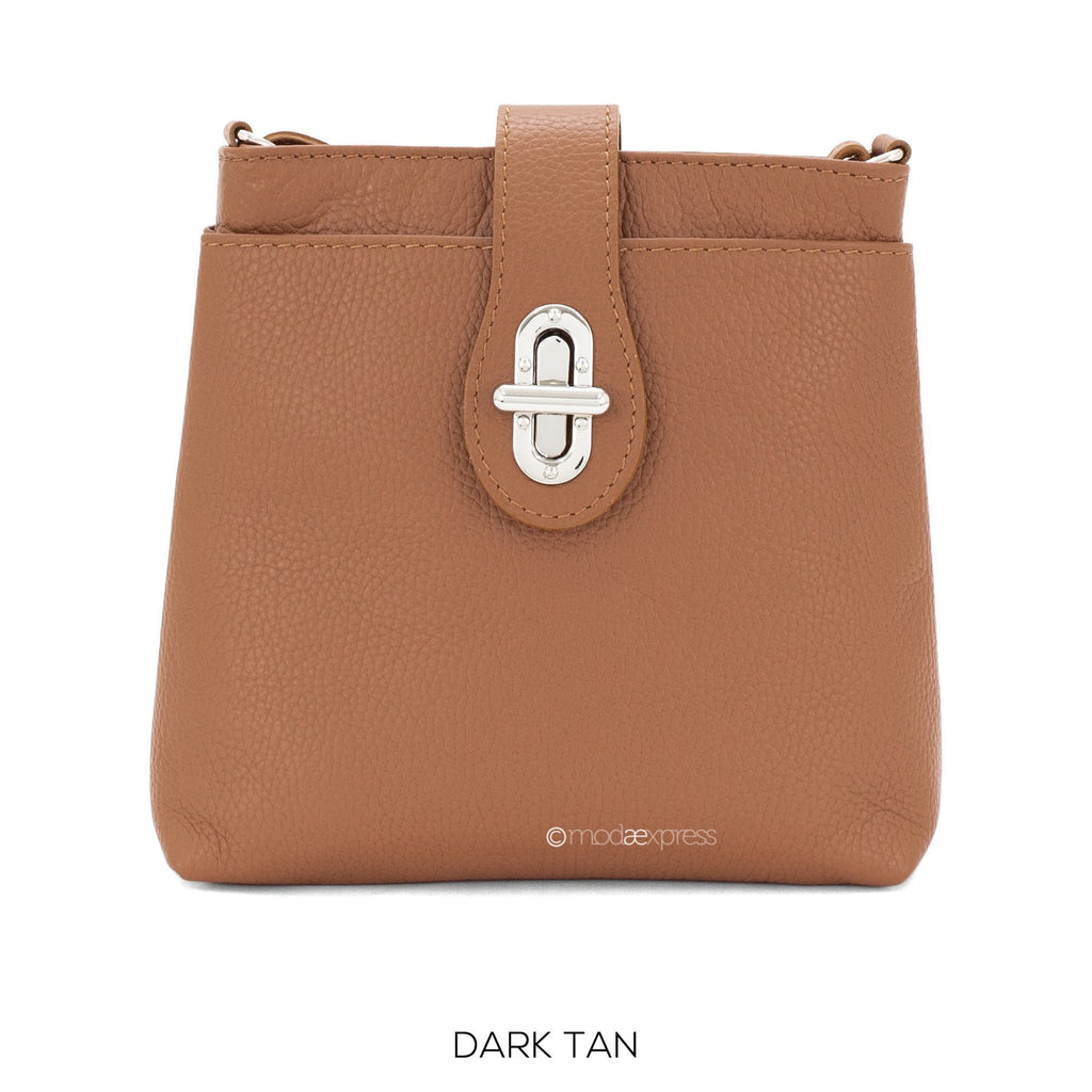 Italian Leather Cross Body Bag with Adjustable Strap - available in several colours - Hothouse