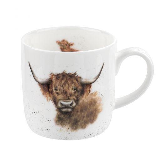 Wrendale Designs - Highland Cow Mug by Hannah Dale - Hothouse