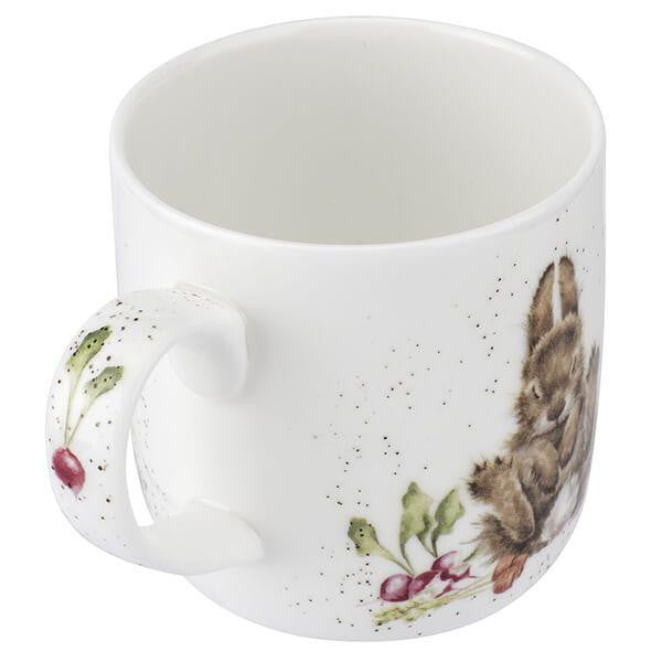 Wrendale Designs 'Grow Your Own' Rabbit Mug - Hothouse