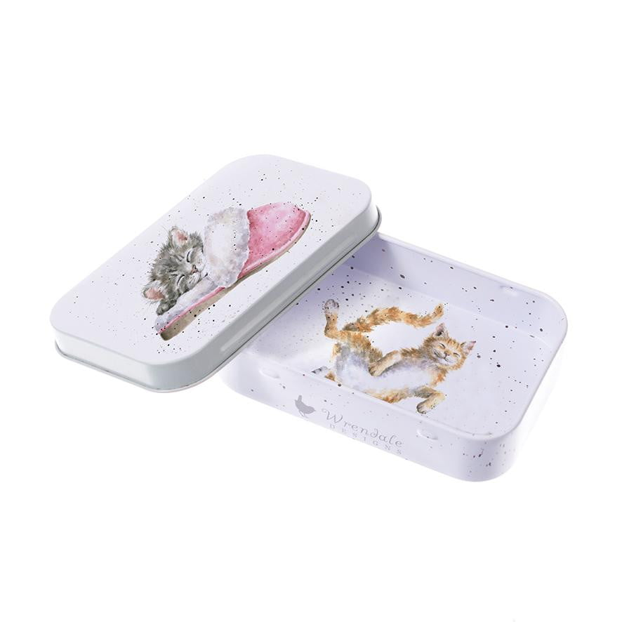Wrendale Designs 'The Snuggle is Real' Cats Keepsake Mini Gift Tin