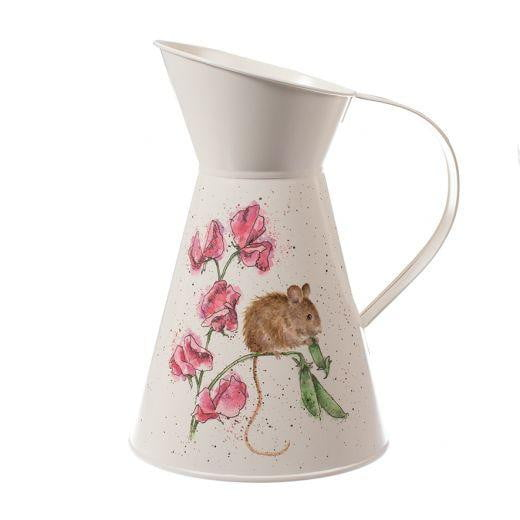Wrendale Designs - 'The Pea Thief' Mouse Flower Jug