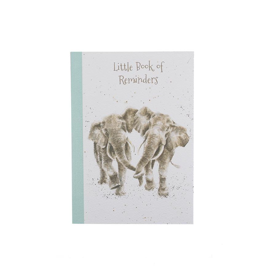 Wrendale Designs Elephant A6 Note Book