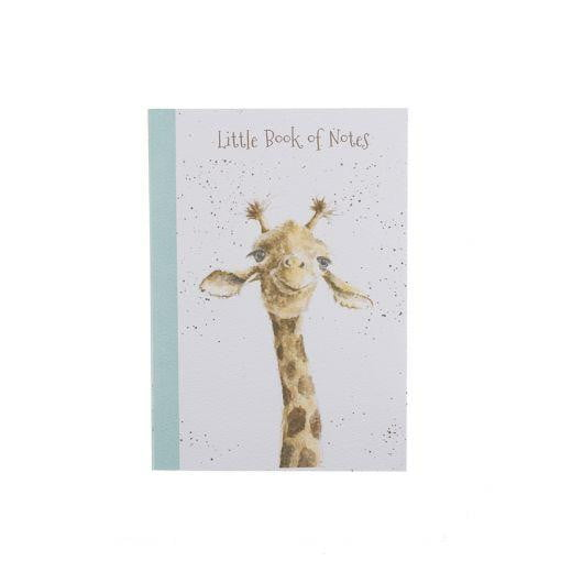 Wrendale Designs - A6 Giraffe Notebook by Hannah Dale - Hothouse