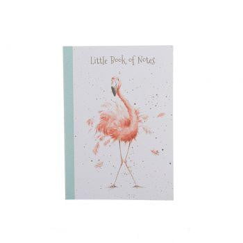 Wrendale Designs - A6 Flamingo Notebook - Hothouse