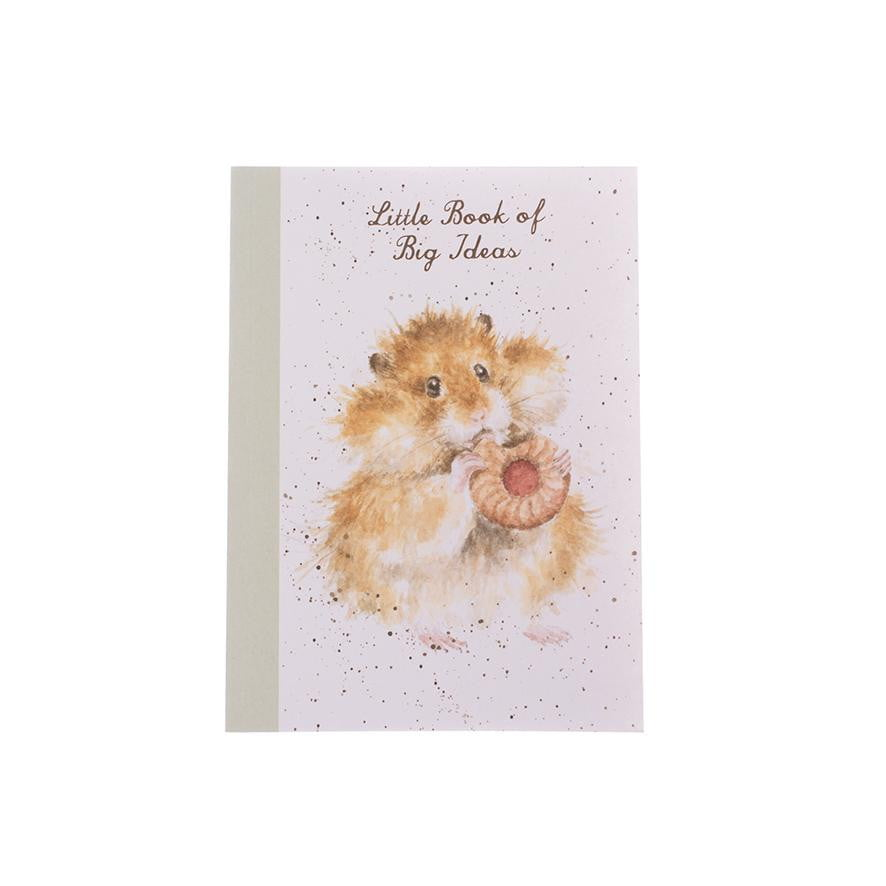 Wrendale Designs 'The Diet Starts Tomorrow' Hamster A6 Note Book