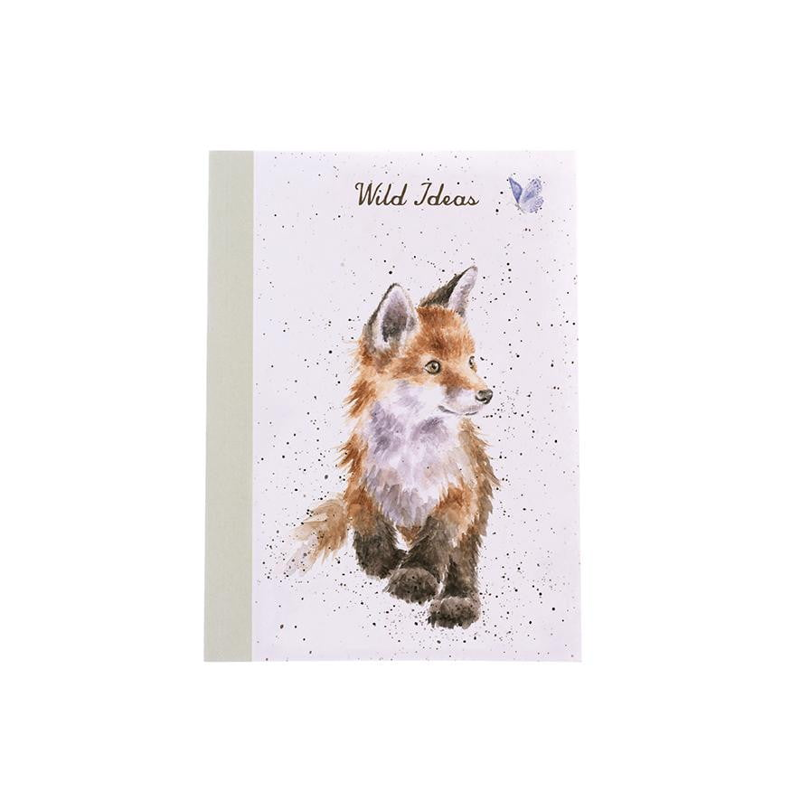 Wrendale Designs 'Born to be Wild' Fox A6 Note Book