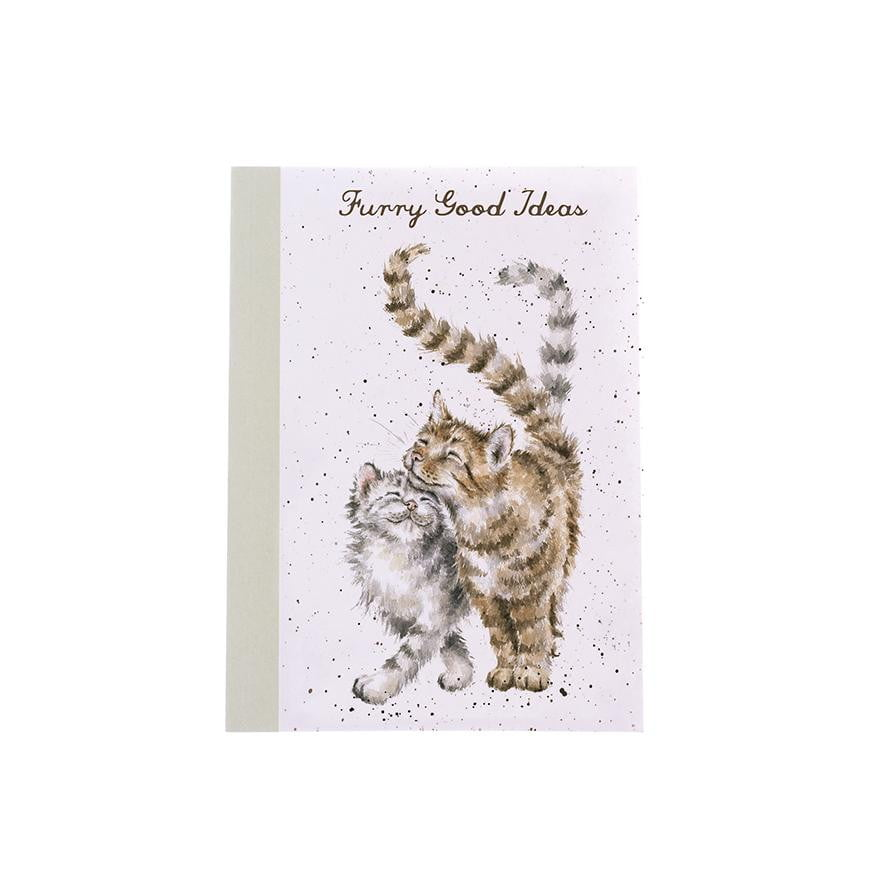 Wrendale Designs 'Feline Good' Cats A6 Note Book