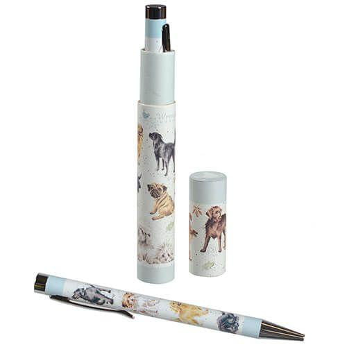 Wrendale Designs - Dog Pen with Gift Box - Hothouse