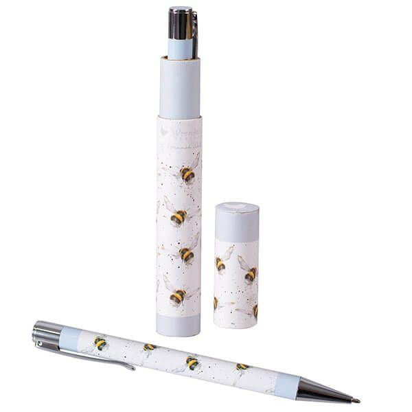 Wrendale Designs - Bee Pen with Gift Box - Hothouse