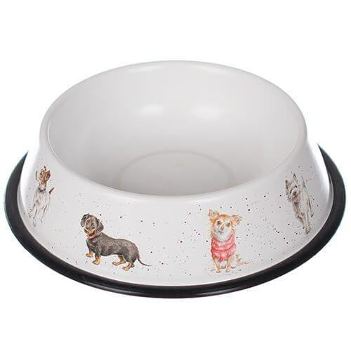 Wrendale Designs Medium Tin Dog Bowl TN007 - Hothouse
