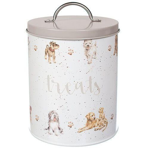 Wrendale Designs Dog Treat Tin - Hothouse