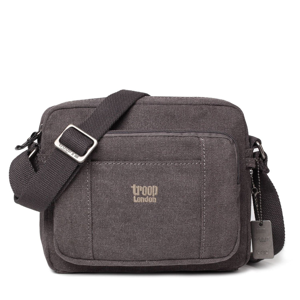Troop London Classic Canvas Cross Body Bag - TRP0235 - Hothouse