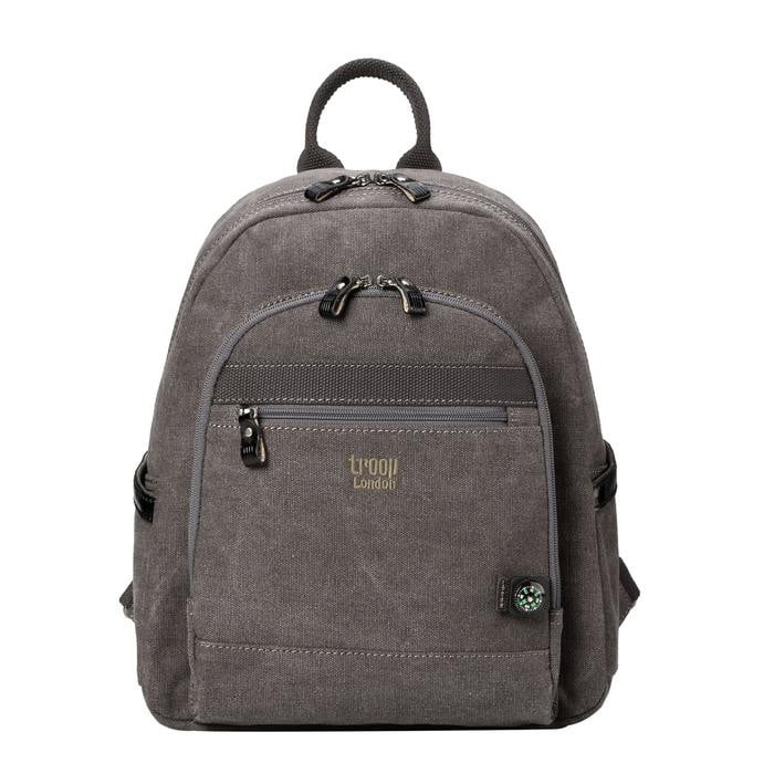 Troop London Classic Canvas Medium Backpack - TRP0510 - Hothouse