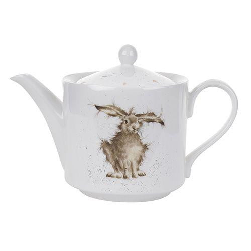Wrendale Designs Hare Brained Teapot - Hothouse