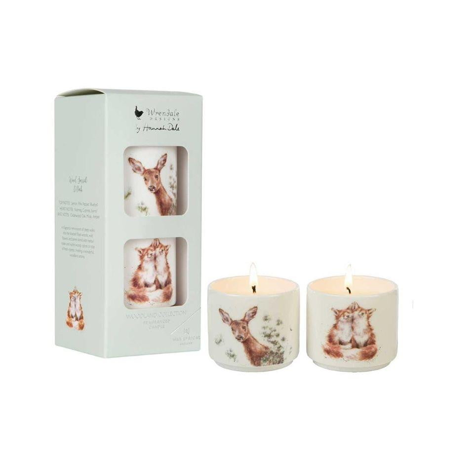 Wrendale Designs - Wax Lyrical Woodland Candle Gift Set