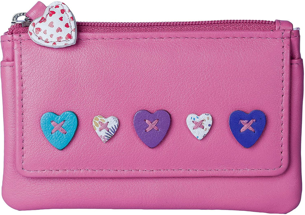 Mala Leather Lucy Coin Purse RFID (468-30) - available in various colours - Hothouse