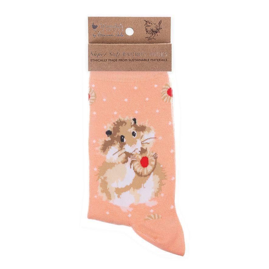 Wrendale Designs 'Diet Starts Tomorrow' Hamster Bamboo Socks
